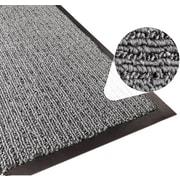 Apache Mills Step 2 Foyer Mat, Brush & Clean, Charcoal, 2' x 3'
