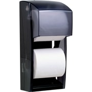 "Kimberly Clark® Double-Roll Bathroom Tissue Dispenser, Smoke Gray, 13 3/4""H x 6""W x 6 3/4""D"