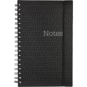 "Staples® Notes Notebook with Elastic Strap, Assorted, 9-1/2"" x 6"", 200 Pages"