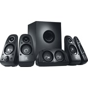 Logitech Z506 75W Surround Sound Speakers for Multiple Devices, Black (980-000430)
