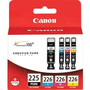 Canon® PGI-225 and CLI-226 Ink Tank Cartridges Multi-pack (4 cart per pack)