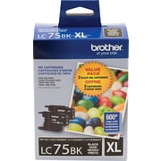 Brother Ink Cartridge, Black, High Yield, 2/Pack (LC752PKS)