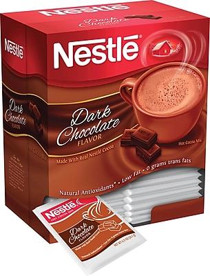 Nestlé® Hot Cocoa Mix, Dark Chocolate, .71 oz., 50 Packets