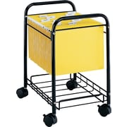 Safco Desk Side Rolling Mobile File Cart