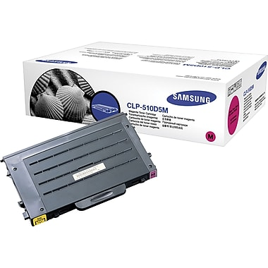 Samsung CLP-M660B Magenta Toner Cartridge, High Yield