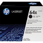 HP 64X (CC364X) Black High Yield Original LaserJet Toner Cartridge
