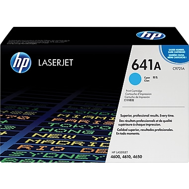 HP 641A Cyan Toner Cartridge (C9721A)