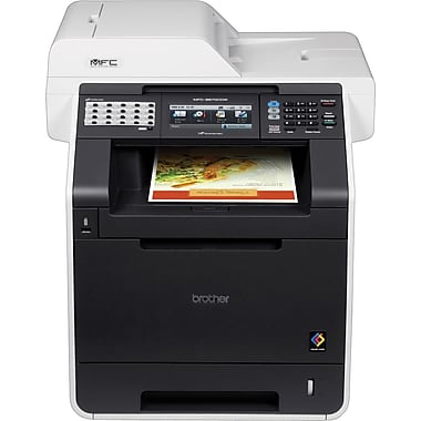 Brother® Refurbished EMFC-9970CDW Color Laser All-in-One Printer