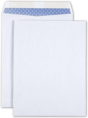 Staples Gummed Wove Catalog Envelopes, White, 25/Pack (579712/19573)