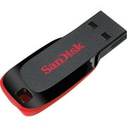 SanDisk Cruzer Blade SDCZ50 USB 2.0 Flash Drive, Black/Red