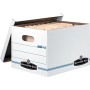 BANKERS BOX® Stor/File™ Basic-Duty Storage Boxes, Letter/Legal Size, 10/PK (703™)
