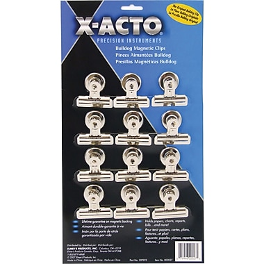X-ACTO® Bulldog® Magnetic Clips, #2, 2 1/4