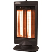 SoleusAir® Oscillating Reflective Heater, Black