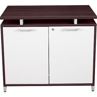 Regency OneDesk Collection Storage Cabinet, Java/White Finish (ONSCD3624JV)