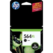HP 564XL Black Ink Cartridge, High Yield (CN684WN#140)