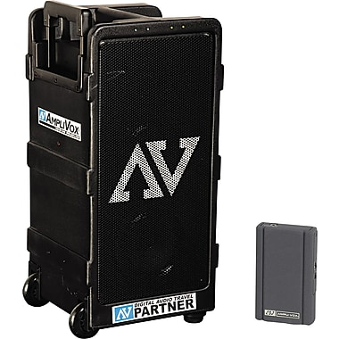 Amplivox Powered Wireless Dual Speaker