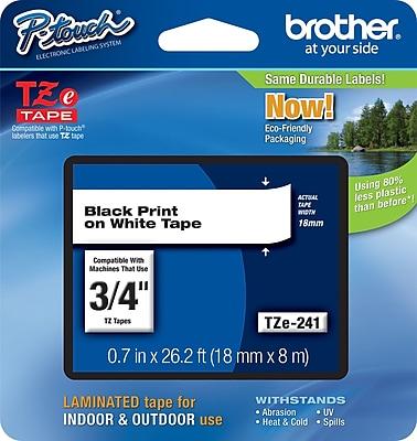 Brother® TZe Series Tape, 3/4