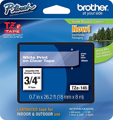 Brother® TZe Series Tape, 3/4