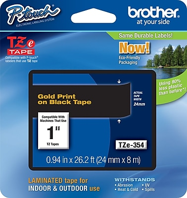 Brother® TZe Series Tape, 1
