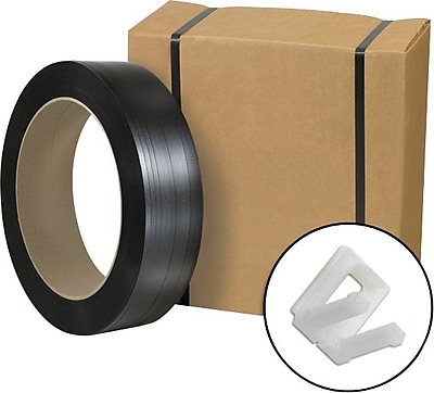 Postal-Approved Poly Strapping Kit, 1/2