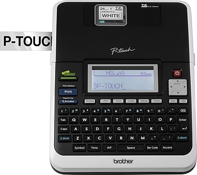 Brother PT-2730 PC-Connectable, Simply Professional Label Maker