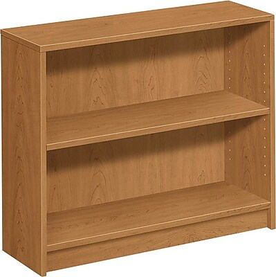 HON 1870 Series 36'' 2-Shelf Bookcase, Harvest (HON1871C)