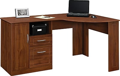 Altra Chadwick Collection Corner Desk Virginia Cherry Staples