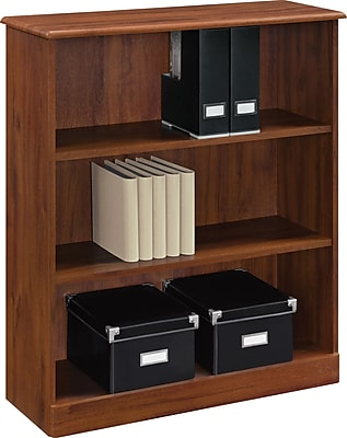 Altra™ Chadwick Collection 3-Shelf Bookcase, Virginia Cherry