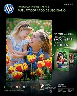 HP Everyday Photo Paper, 8-1/2
