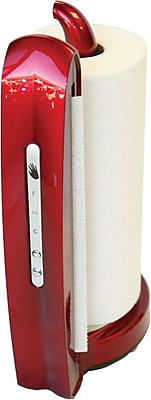 iTouchless® Towel-Matic II® Automatic Paper Towel Holder, Candy Apple Red