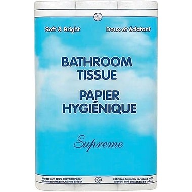 Supreme Bathroom Tissue, Double Roll, Case