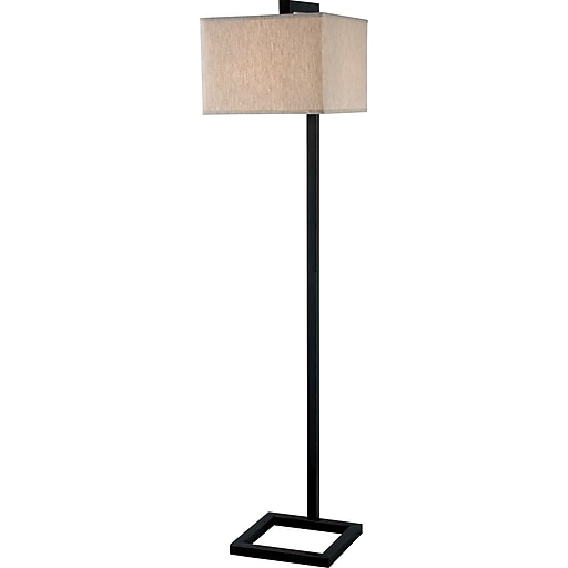 Kenroy Home 4 Square Floor Lamp Oil Rubbed Bronze Finish Staples