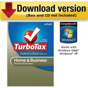 TurboTax Home & Business Fed + Efile + State 2010 for Windows [Download]