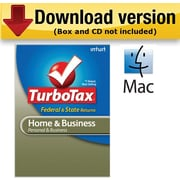 TurboTax Home & Business Fed + Efile + State 2010 for Mac [Download]