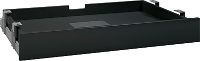 Bush Business Multi-purpose Drawer with Drop Front, Black