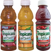Tropicana® Ruby Red Grapefruit Juice, 10 oz. Bottles, 24/Case
