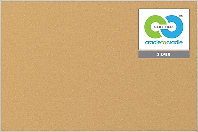 Best-Rite Ultra Trim Eco Cork Bulletin Board, 4' x 8'