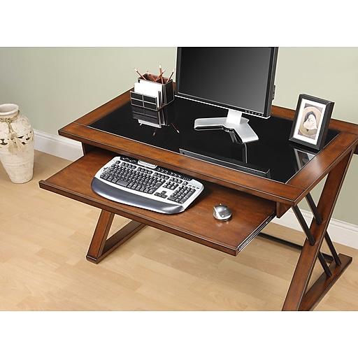 Whalen Desks: Whalen® Astoria Computer Desk, Brown Cherry