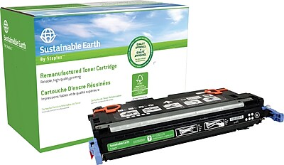 Staples® Remanufactured Color Laser Toner Cartridge, HP 314A (Q7560A), Black