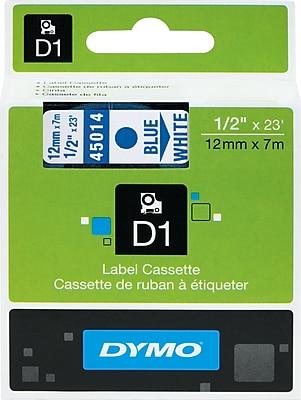 DYMO® D1 Labels, 1/2