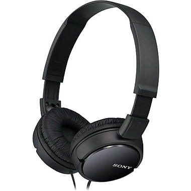 Sony MDR-ZX110 Stereo Headphones, Black