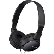 Sony MDR-ZX110 Stereo Over Ear Headphones, Black