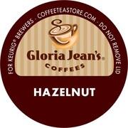 Keurig® K-Cup® Gloria Jean's® Hazelnut Coffee, Regular, 18 Pack