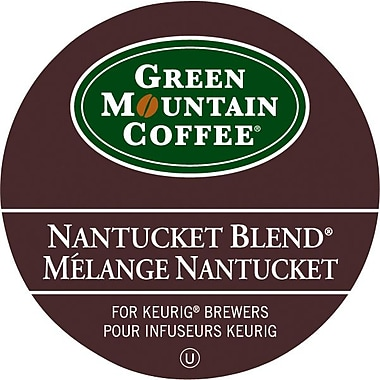 Green Mountain – Recharges K-Cup, café mélange Nantucket, paq./24