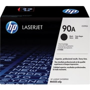 HP 90A Black Toner Cartridge (CE390A)