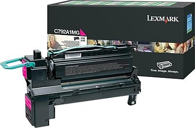 Lexmark Magenta Toner Cartridge (C792A1MG), Return Program
