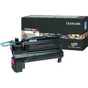Lexmark Magenta Toner Cartridge (X792X1MG), Extra High-Yield, Return Program
