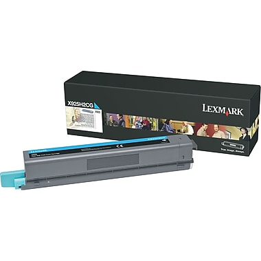Lexmark X925H2CG Cyan Toner Cartridge, High-Yield (X925H2CG)