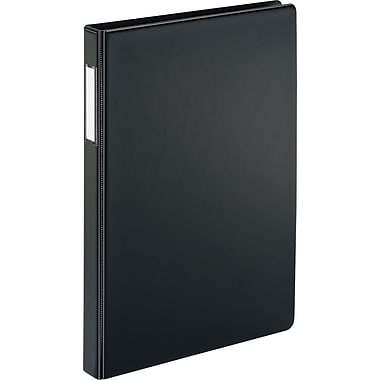 Cardinal Heavy-Duty 2-Inch Slant D 3-Ring Non-View Binder, Black (14532)