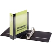 "Cardinal Performer ClearVue Standard 2"" 3-Ring View Binder, Black (CRD 17501)"